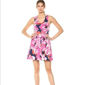 NWT Trina by Trina Turk pink floral dress